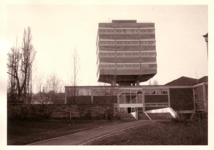 Das Institut für Umformtechnik im Jahr 1964 (c) Walter Denninger